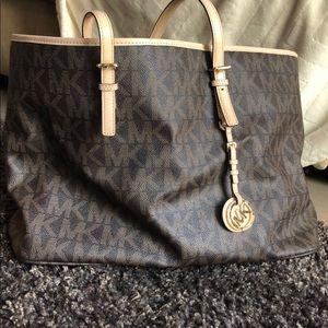 Michael Kors Brown Tote Handbag